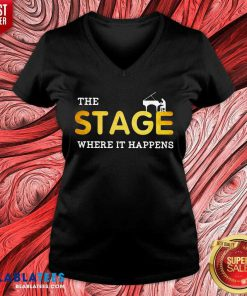 The Stage Where It Happens Piano Shirt Design By B:ablatee.com