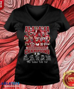 Alabama Cfp National Champions 2020 Signature Shirt Design By Blablatee.com
