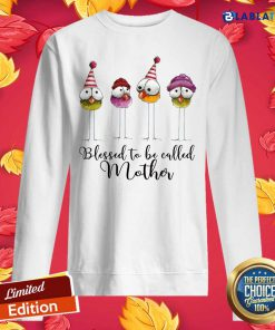 Blessed To Be Called Mother Shirt Design By BLablatee.com