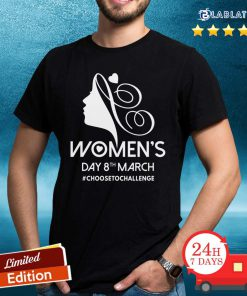 Choose To Challenge International Women's Day IWD 2021 Equal Shirt Design By BLablatee.com