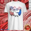 American Flag Colors Llama Lovers 4th Of July Shirt - Design By Blablatees.com
