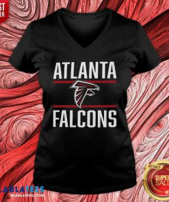 Atlanta Falcons V-neck - Design By Blablatees.com