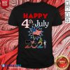 Happy 4th Of July 2021 Shirt- Design By Blablatees.com