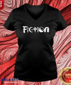Religion Fiction V-neck Design By Blablatees.com
