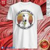 Bull Terrier I Like Dogs And Gin And Maybe 3 People Vintage Shirt - Design By Blablatees.com