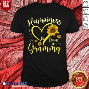 Happiness Is Being A Grammy Sunflowers Shirt
