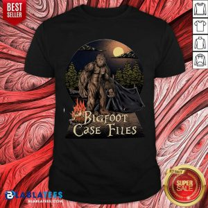 Pretty Bigfoot Case Files In Your Camp Shirt
